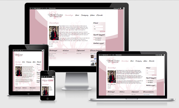 webdesignessences - responsive website reference